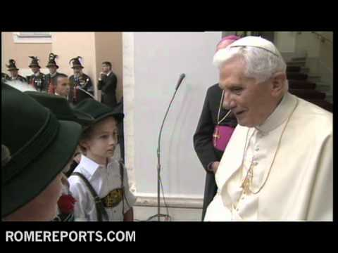 Regalan concierto a Benedicto XVI en  Castel Gandolfo