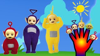 getlinkyoutube.com-Teletubbies Finger Family Nursery Rhyme