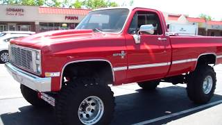 getlinkyoutube.com-1984 Chevy K30 lifted big block 454