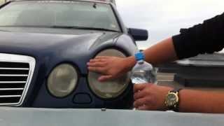getlinkyoutube.com-DIY: Mercedes-Benz E55 AMG Headlight Restoration with Toothpaste