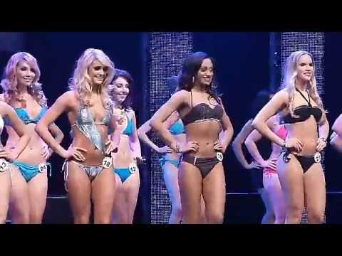 Miss World Canada 2013 - Bikini Swimwear Competition!!