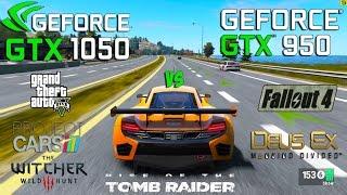 getlinkyoutube.com-GTX 1050 vs GTX 950 Test in 6 Games (i3 6100)
