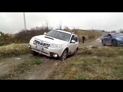 Subaru Forester ai Casoni di Romagna