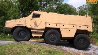 getlinkyoutube.com-TITUS Tatra factory Nexter 6x6 armored personnel carrier test drive live demonstration Kopřivnice