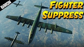getlinkyoutube.com-German's TU-4 REVENGE, BV-238 Bomber Formation - War Thunder 1.63 Gameplay