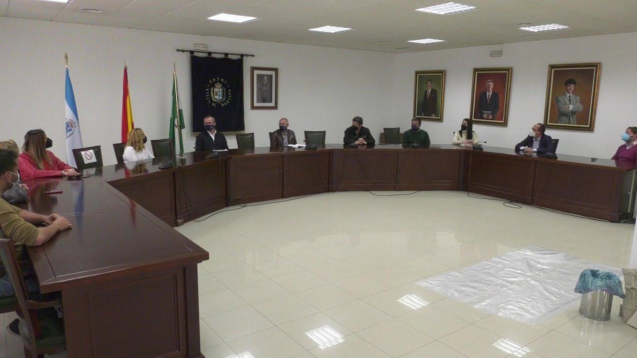Reunión del equipo de gobierno