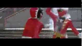 getlinkyoutube.com-Power Ranger Super Megaforce & Megaforce