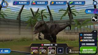 getlinkyoutube.com-Jurassic world Dino level hack [ROOT]