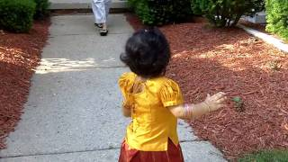 getlinkyoutube.com-My First Pattu Pavadai