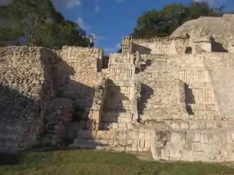 Edzna,Campeche,Ruinas Arqueológicas.