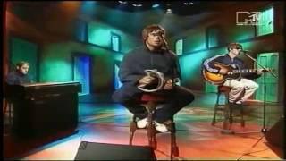 getlinkyoutube.com-Oasis - Live Forever (Acoustic) MTV 1994 (HD)