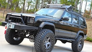 getlinkyoutube.com-Davis AutoSports...FULLY BUILT STAGE 4...LIFTED CHEROKEE XJ SPORT FOR SALE