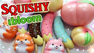 getlinkyoutube.com-SQUISHY !! PACCO Pieno con SQUISHY I-BLOOM !! Squishy-Japan *-*