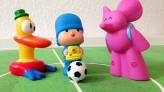 getlinkyoutube.com-Pocoyo play soccer with elly and pato