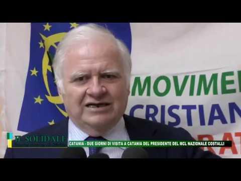 """Video: Catania - MCL: """"Carlo Costalli"""": due giorni di visita a Catania"""