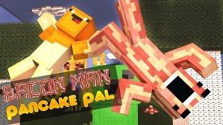 getlinkyoutube.com-Minecraft Adventures of Bacon Man : TALL DROPPER CUSTOM MAP!