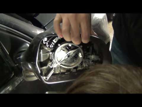 Как разобрать боковое зеркало Audi. Без снятия обшивки двери.