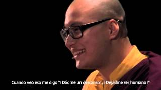 getlinkyoutube.com-Visita de Kalu Rinpoche Madrid 2013