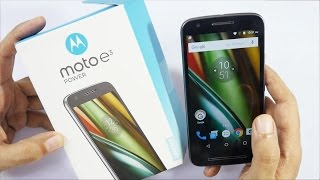Moto E3 Power Budget Android Phone Unboxing & Oveview width=