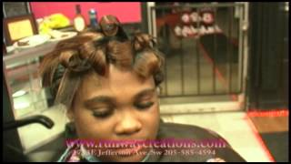 getlinkyoutube.com-How To Do High Definition Curls 101 (The Betty Boop Look)Tutorial