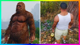 "getlinkyoutube.com-GTA 5 ""BIGFOOT"" Golden Peyote Plant Location FOUND! - Play As Bigfoot (Sasquatch) In GTA 5! (GTA V)"