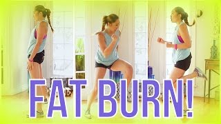 getlinkyoutube.com-8 min At Home Cardio Workout! Swimsuit Slimdown Series