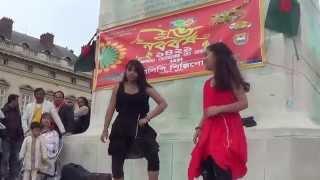 getlinkyoutube.com-Dance - Jole Utho Bangladesh - Arfin Rumey - Pohela Boishakh - Paris - 2014