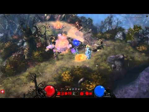Diablo 3 Witch Doctor Gameplay Trailer [HD] (diablo3.pl)