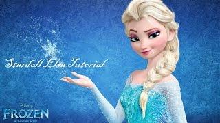 getlinkyoutube.com-Stardoll Elsa Tutorial with Little Material (Hair, makeup & clothing)