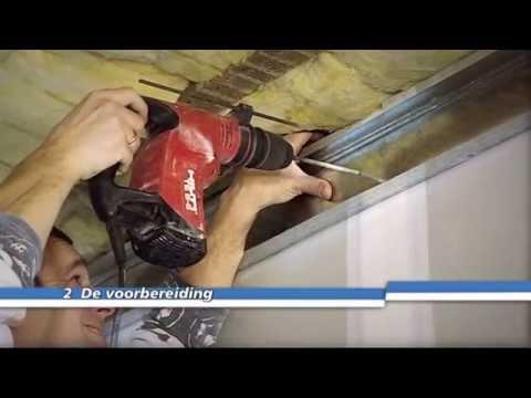 Een Metal Stud-plafond hangen
