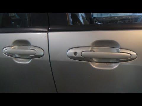 Где в Mazda Biante находятся задние пружины