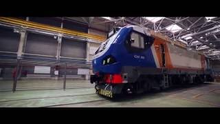 Electric locomotives assembly factory EKZ Astana Kazakhstan