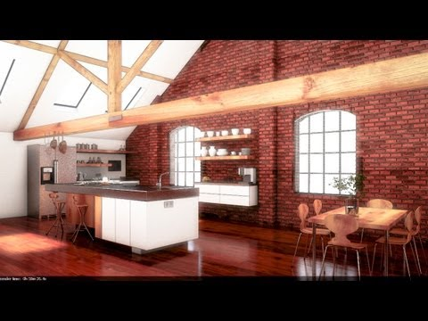 Vray Tutorial - Basic Int Lighting with Vray and 3ds Max - Workshop 07 - Part III