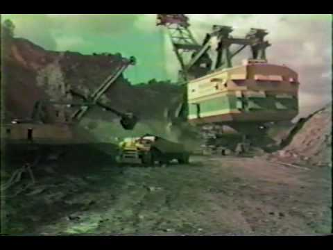 Bucyrus Erie 3850-B Power Shovel (Peabody Coal Co. - Sinclair Surface Mine)