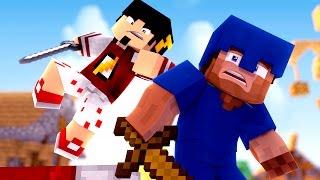 Minecraft: DESAFIO ATAQUE AEREO - BED WARS ‹ AMENIC ›