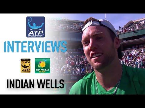 Sock Talks About Landmark QF Win In Indian Wells 2017