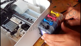 getlinkyoutube.com-How To Modify Printer Ink Canon MG2470 or MG2570 / MG2570s