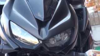 getlinkyoutube.com-新車 納車 おめでとう 和歌山 男カワサキ 2014 Kawasaki Z1000 Ninja1000 黒忍者の嵐 カワサキ・Z1000SX カワサキ・Z1000