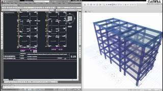 getlinkyoutube.com-Etabs - GTutorial 001:  Modelamiento de una Edificación de Concreto Armado de 5 pisos