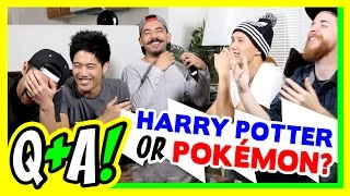 getlinkyoutube.com-Pokemon or Hogwarts!? (Q&A)