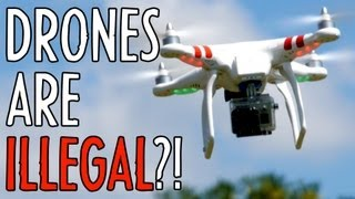 getlinkyoutube.com-Aerial Video is ILLEGAL?! Hands-on: DJI Phantom Quadcopter : Indy News