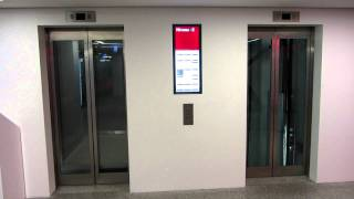 getlinkyoutube.com-Shopping mall Schindler elevators