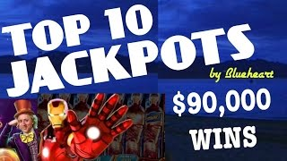 "★★TOP 10 JACKPOTS★★ ""BIGGEST SLOT WINS""  ★ALL TIME BEST JACKPOT HANDPAYS★"