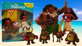 getlinkyoutube.com-Disney Moana Movie My Busy Book Read and Review | Evies Toy House