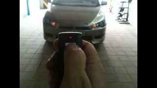 getlinkyoutube.com-Remote Start Mitsubishi Lancer in UAE