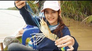 getlinkyoutube.com-The season of prawn fishing น้ำแดงมาถึงฤดูการตกกุ้งแล้ว by fishingEZ