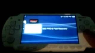 getlinkyoutube.com-Hackear PSP 6.60 PRO B-10 Temas, instalar juegos