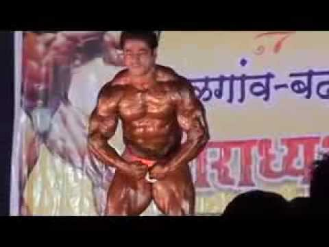 Suhas khamkar bodybuilding badlapur shree