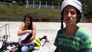 getlinkyoutube.com-STUNT  Karol Vargas-Deison Carvajal