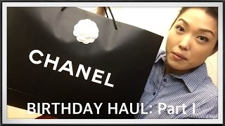 getlinkyoutube.com-BIRTHDAY HAUL Part 1 | CHANEL Double Unboxing |